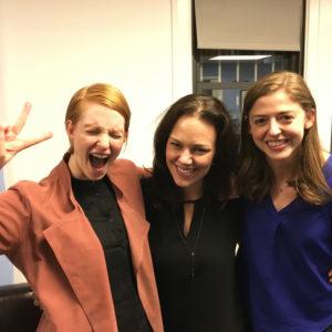 Mackenzie Shivers, Georgia Stitt, Madeline Myers