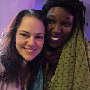 Georgia Stitt and Imani Uzuri