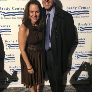 Georgia and her husband Jason Robert Brown co-chair the annual gala for The Brady Center to Prevent Gun Violence.